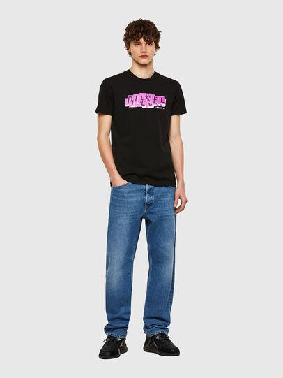 Diesel - T-DIEGOS-E32, Black - T-Shirts - Image 4