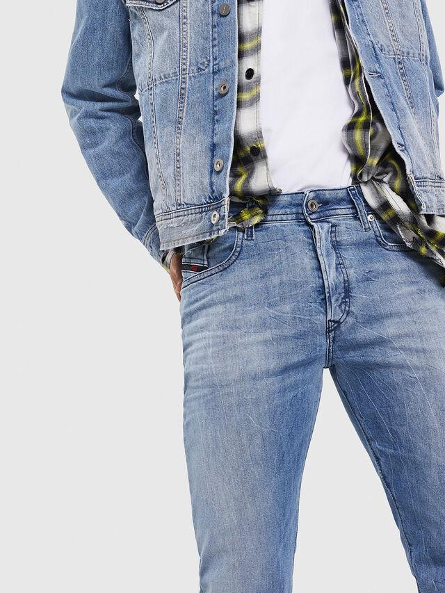 Diesel - Buster 081AL, Light Blue - Jeans - Image 3