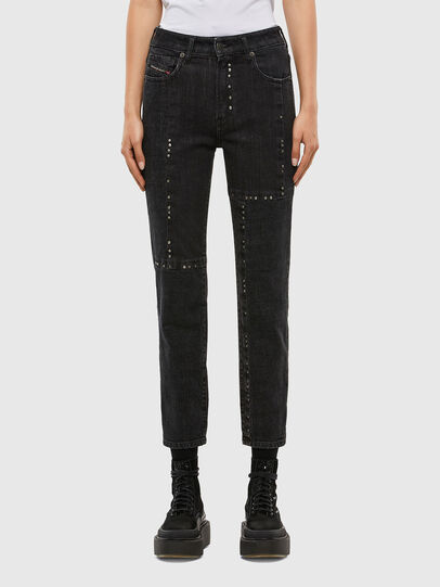 Diesel - D-Joy 009KY, Black/Dark grey - Jeans - Image 1