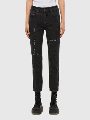 D-Joy JoggJeans 009KY, Black/Dark grey - Jeans