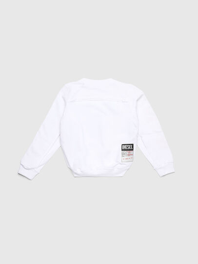 Diesel - SLYANYDY, White - Sweaters - Image 2