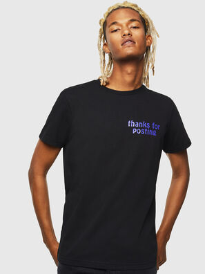 T-DIEGO-J20, Black - T-Shirts