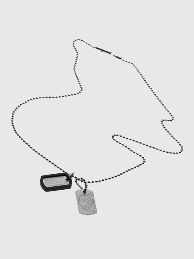 Diesel - A TOG TOG ONE WITH, Silver - Necklaces - Image 1