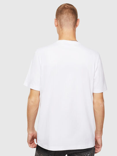 Diesel - T-JUST-J20, White - T-Shirts - Image 3