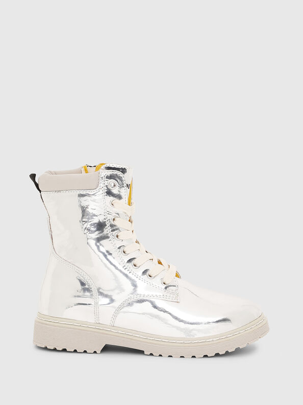 HB LACE UP 04 CH,  - Footwear