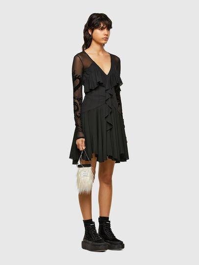 Diesel - D-ADELE, Black - Dresses - Image 5