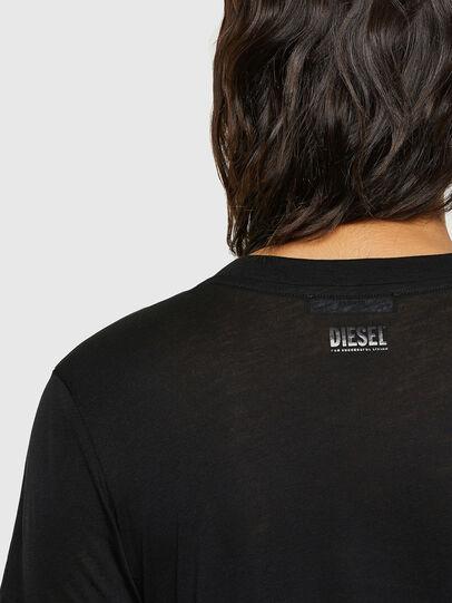 Diesel - T-SILY-V26, Black - T-Shirts - Image 3