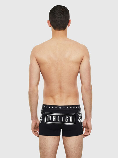 Diesel - UMBX-DAMIEN, Black/White - Trunks - Image 2