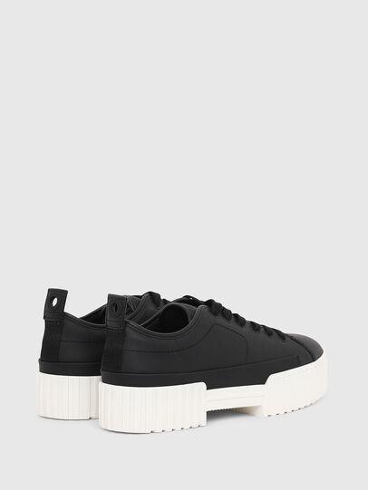 Diesel - S-MERLEY LC, Black - Sneakers - Image 3