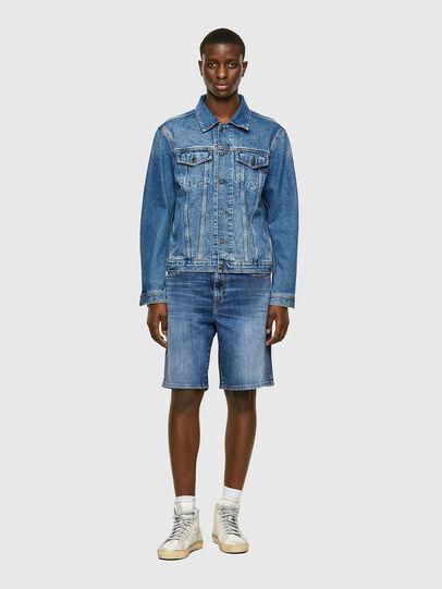 Diesel - D-STRUKT-SHORT, Medium blue - Shorts - Image 5