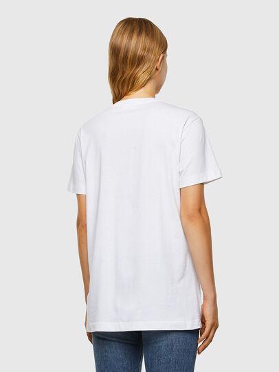 Diesel - T-DARIA-V31, White - T-Shirts - Image 2