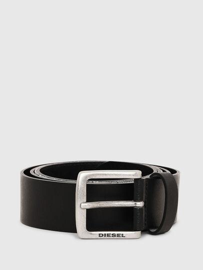 Diesel - B-SERUGO, Black - Belts - Image 1