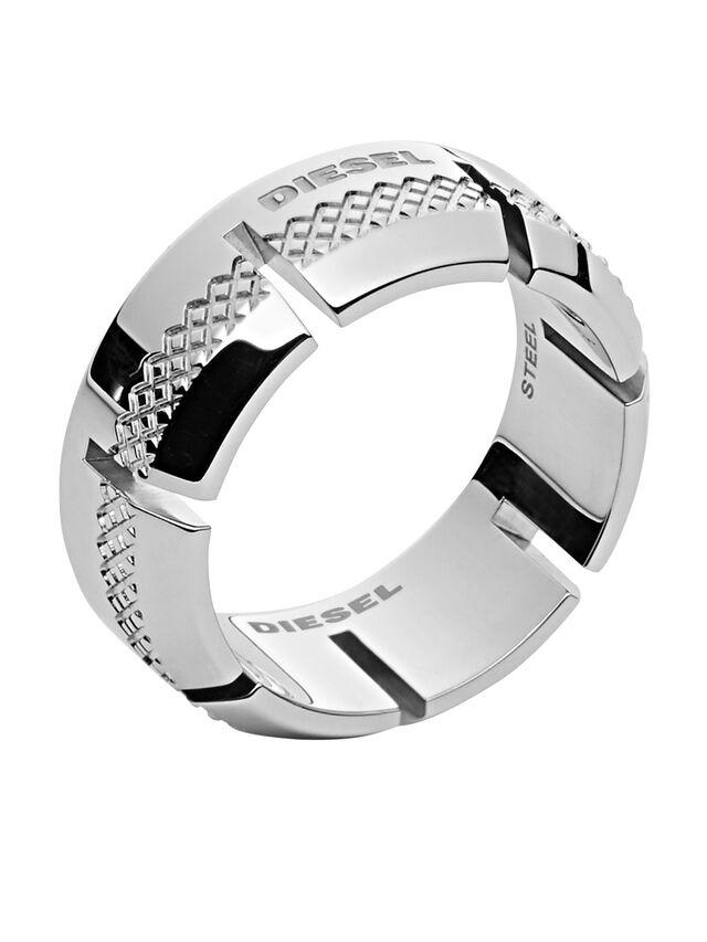 Diesel RING DX1028, Silver - Rings - Image 1