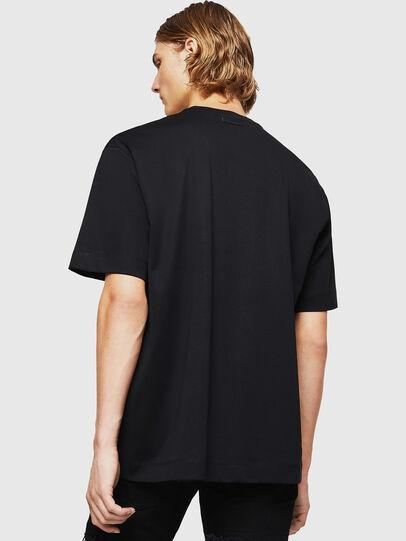 Diesel - TEORIALE-X3, Black - T-Shirts - Image 2