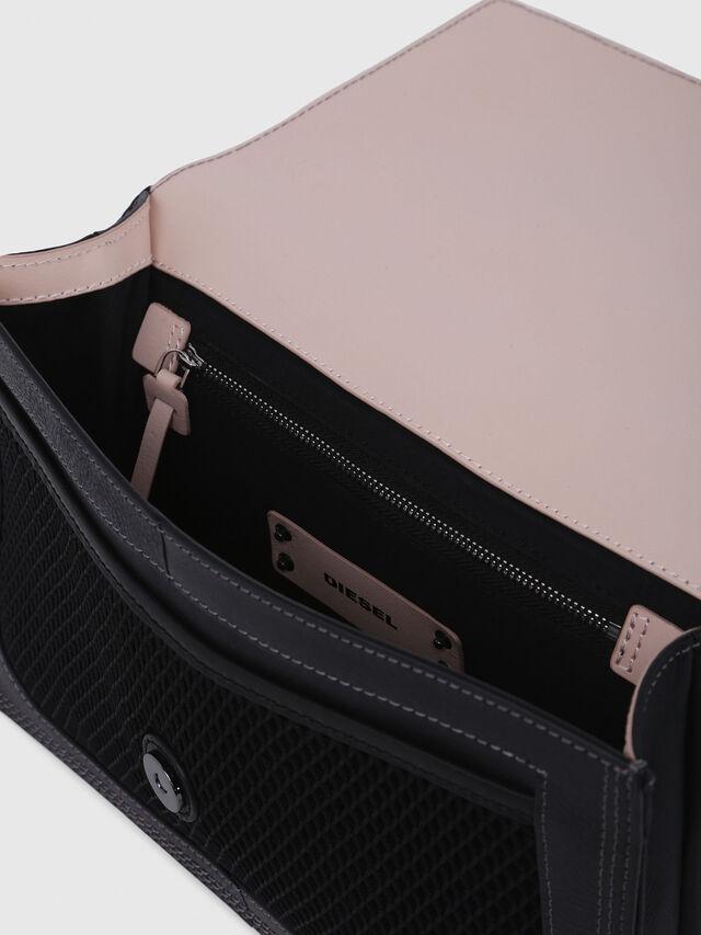Diesel - MISS-MATCH CROSSBODY, Black/Pink - Crossbody Bags - Image 3