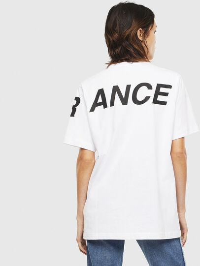Diesel - T-JUST-T21, White - T-Shirts - Image 4