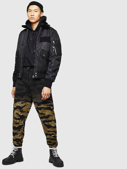 Diesel - W-SLOTKIN-A, Black - Winter Jackets - Image 8