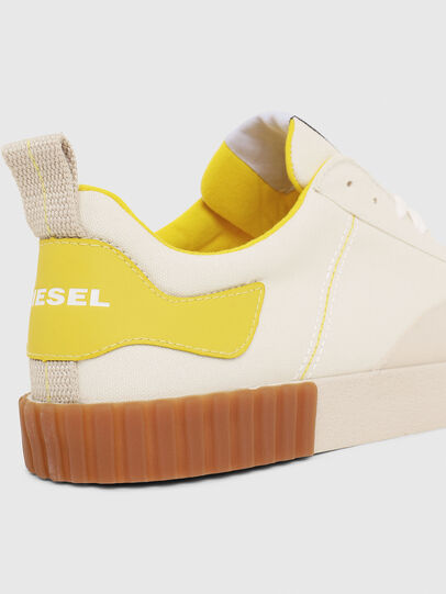 Diesel - S-BULLY LC, White/Yellow - Sneakers - Image 4