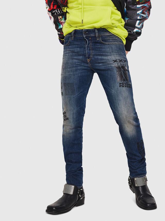 Diesel - Buster 087AW, Dark Blue - Jeans - Image 1