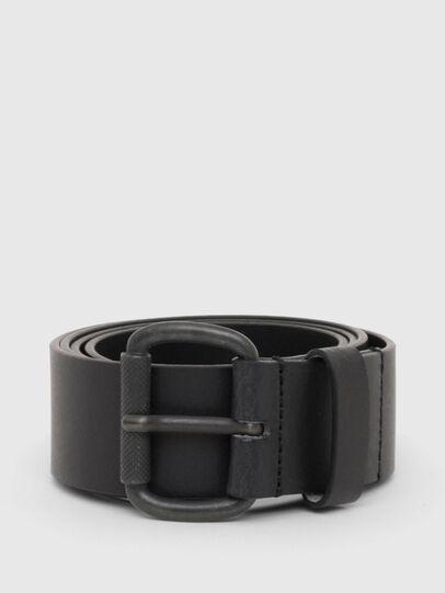 Diesel - B-DIVISION, Bright Black - Belts - Image 1
