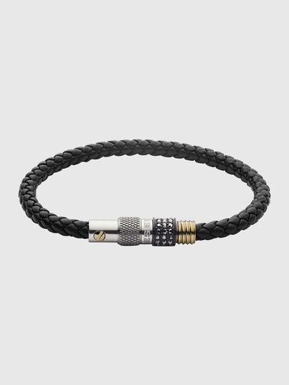 Diesel - DX1221, Black/Gold - Bracelets - Image 1