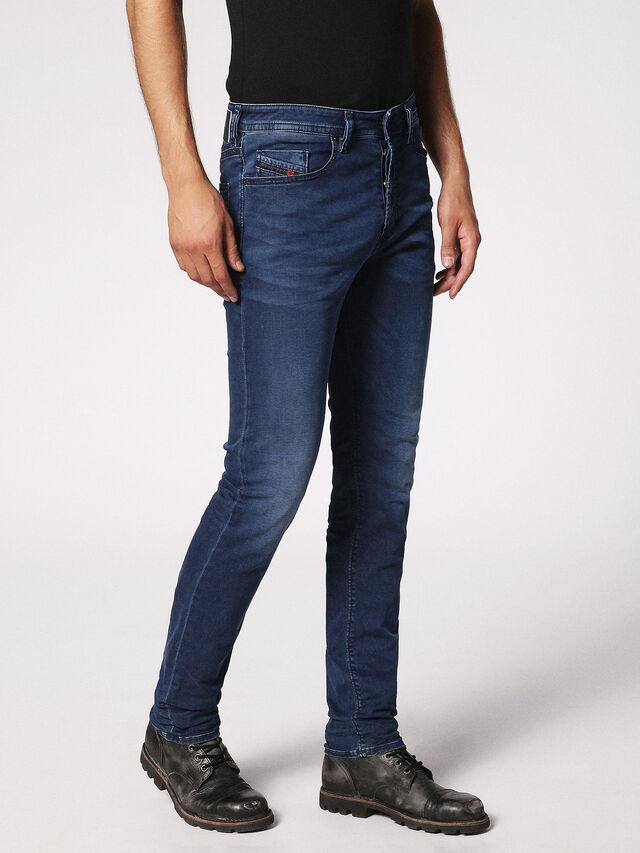 Diesel - Buster 0675L, Dark Blue - Jeans - Image 6