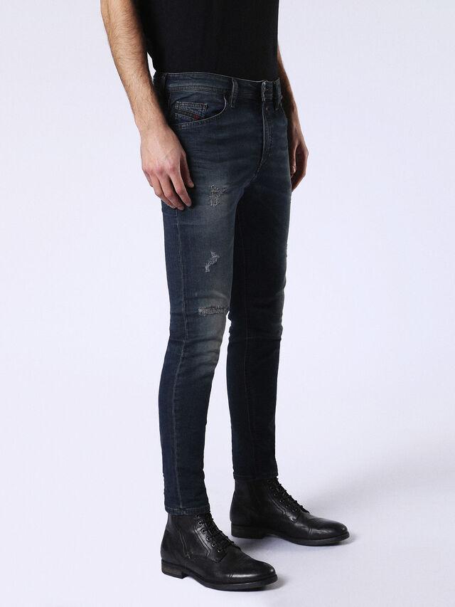 Diesel - Spender JoggJeans 0678L, Dark Blue - Jeans - Image 5