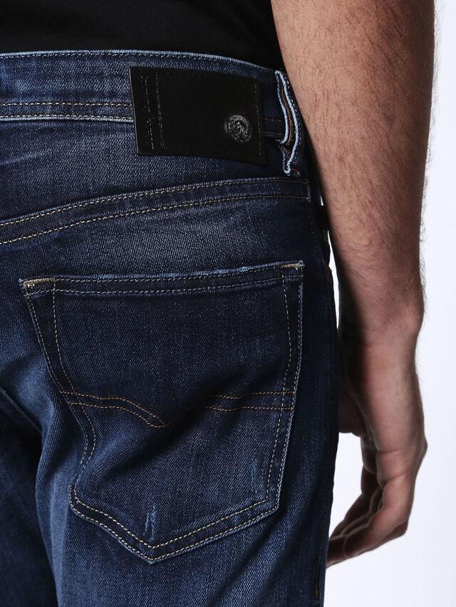 Diesel - Buster 0860L, Dark Blue - Jeans - Image 8