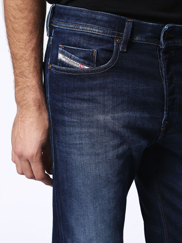 Diesel - Buster 0860L, Dark Blue - Jeans - Image 4