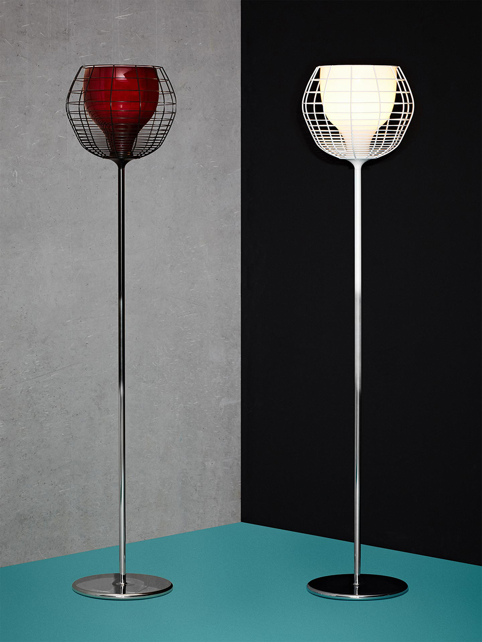 LIGHTING COLLECTION Foscarini for Diesel: CAGE FLOOR