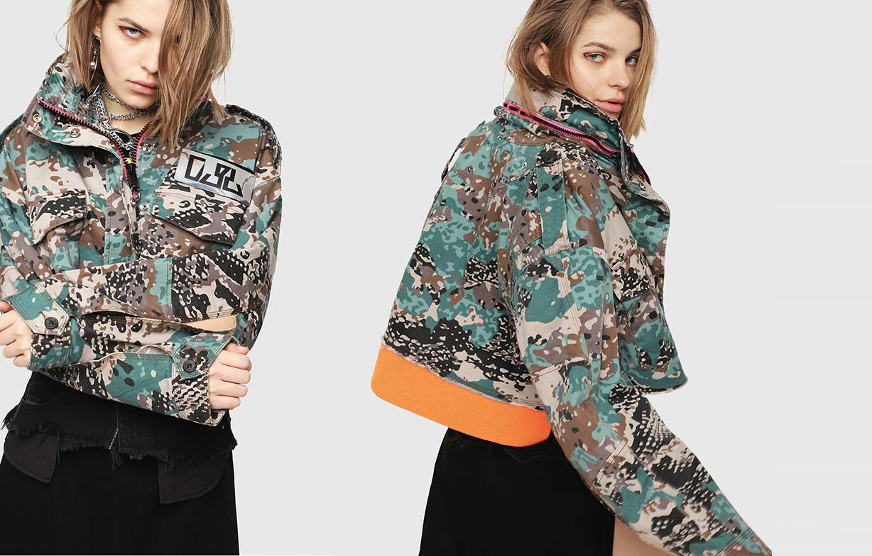 Camo Collection Woman