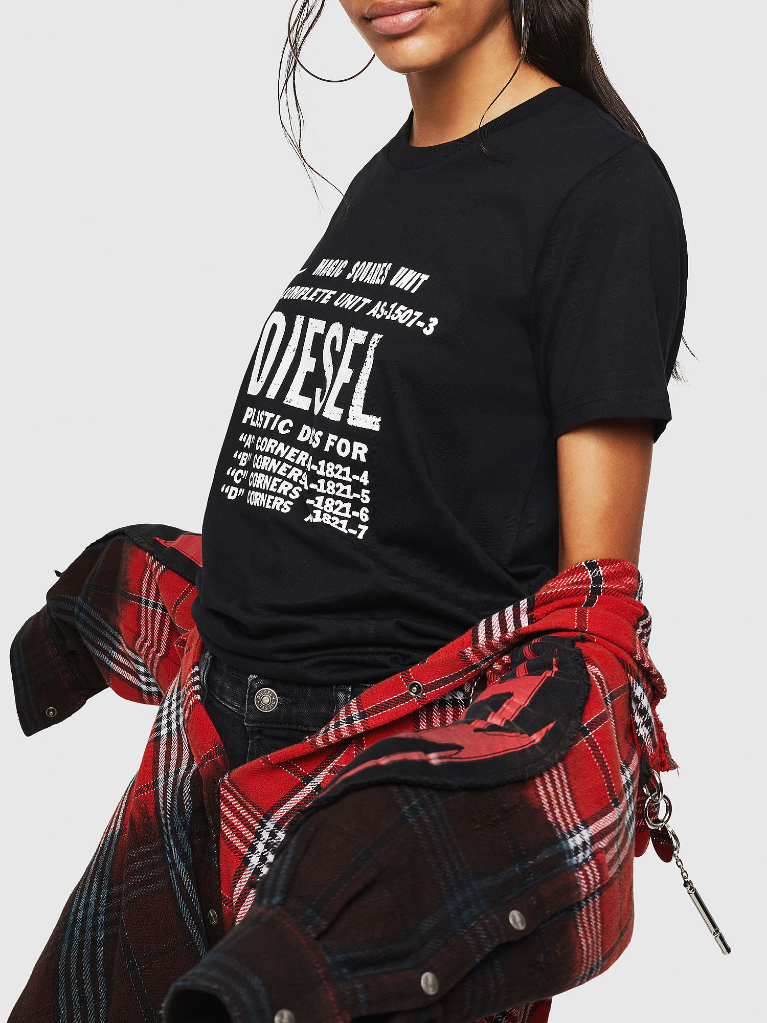 Diesel - T-SILY-ZF,  - T-Shirts - Image 5