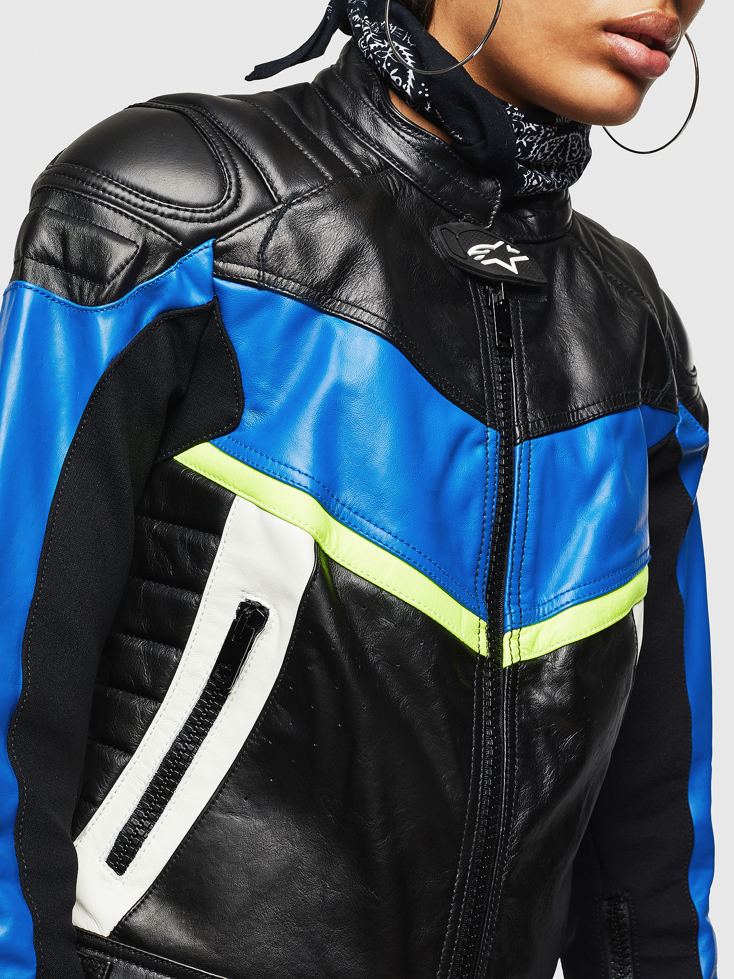 Diesel - ASTARS-LQUATTRO,  - Leather jackets - Image 5