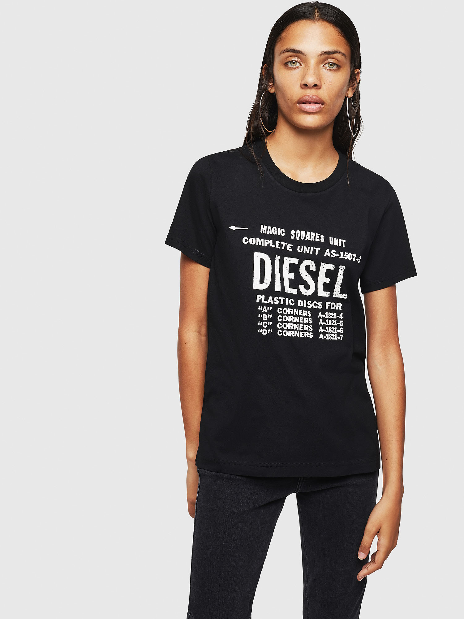 Diesel - T-SILY-ZF,  - T-Shirts - Image 1